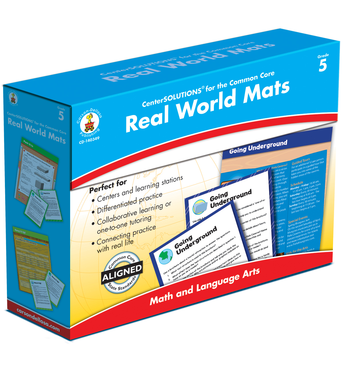 Real World Mat Classroom Kit- Grade 5