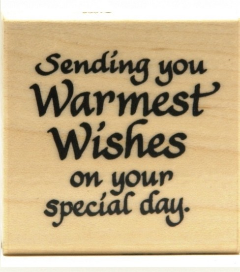 Stampendous-Sending Wishes Stamp