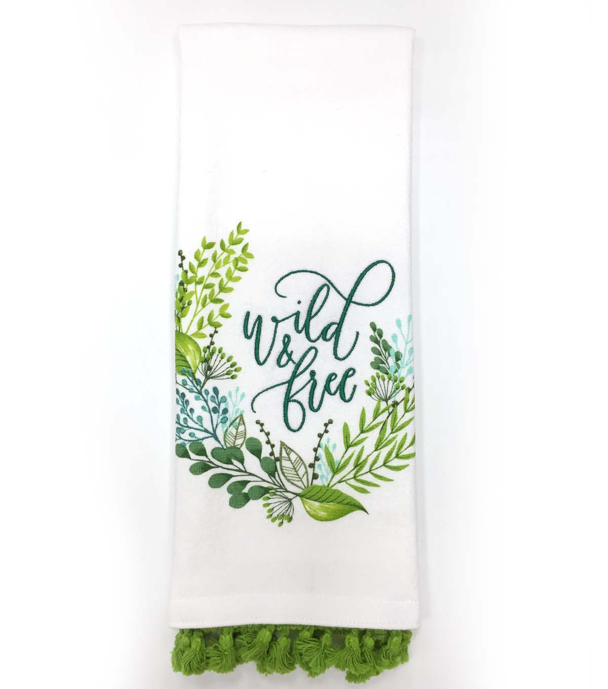 Hello Spring 16\u0027\u0027x28\u0027\u0027 French Terry Towel-Wild & Free