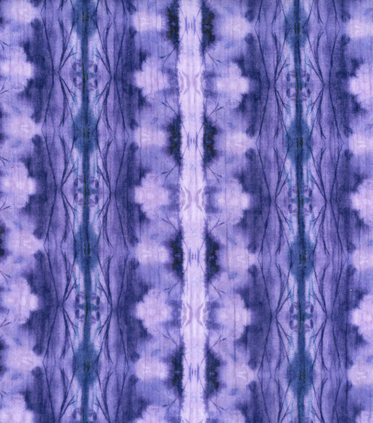 Kathy Davis® Cotton Gauze Fabric 54\u0022-Purple Forest Tie Dye