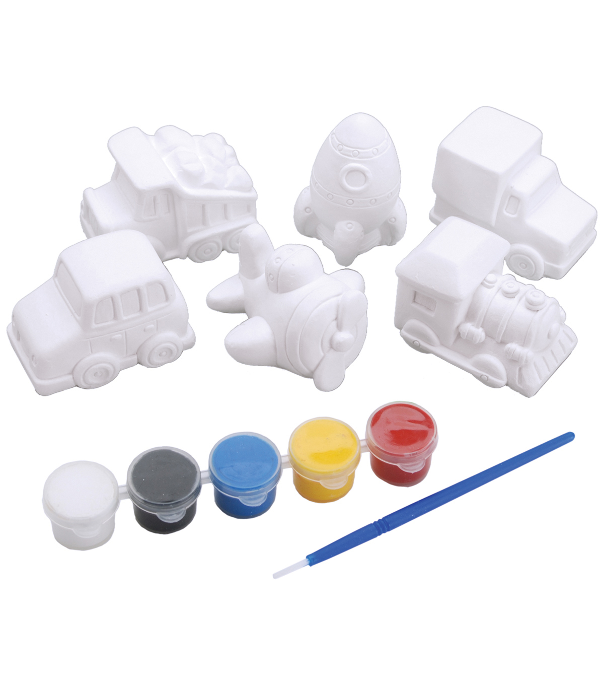 You Paint It Plaster Kit Value Pack-Transportation