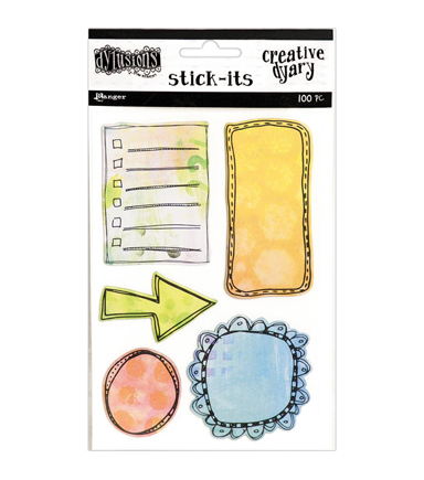 Dylusions Creative Dyary Stick-Its
