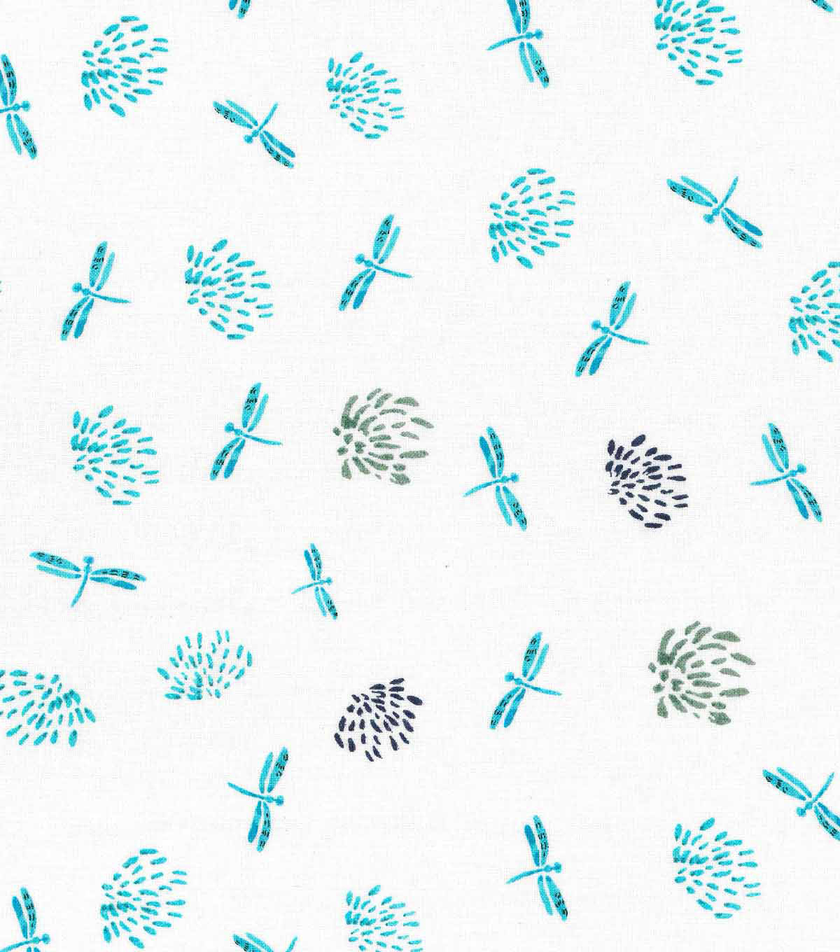 Keepsake Calico™ Cotton Fabric-Misty Dragonfly Small Allover