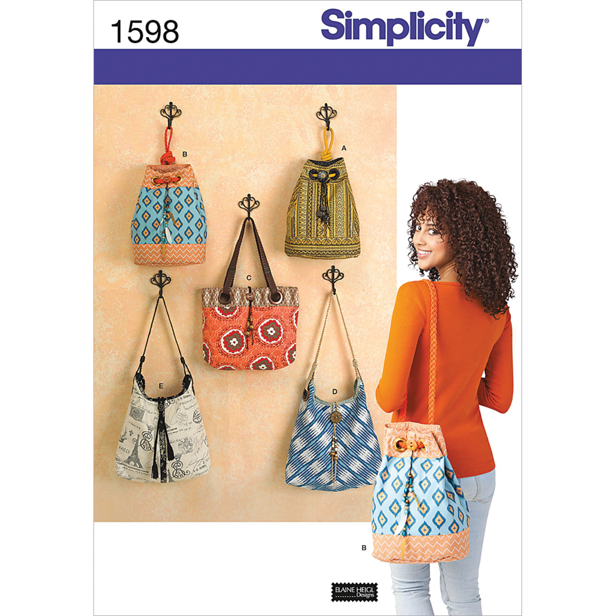 Simplicity Pattern 1598OS One Size -Crafts Accessories