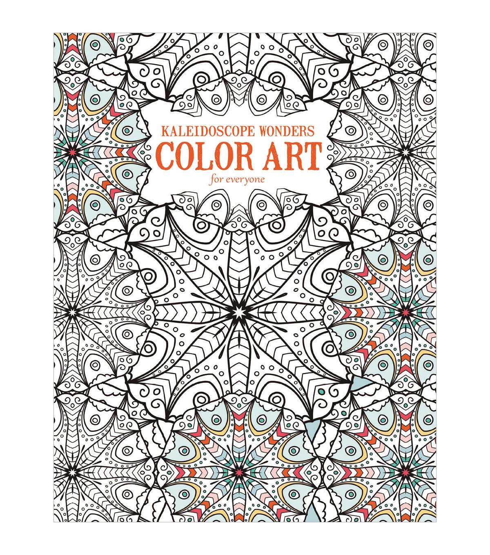 Adult Coloring Book Leisure Arts Kaleidoscope Wonders