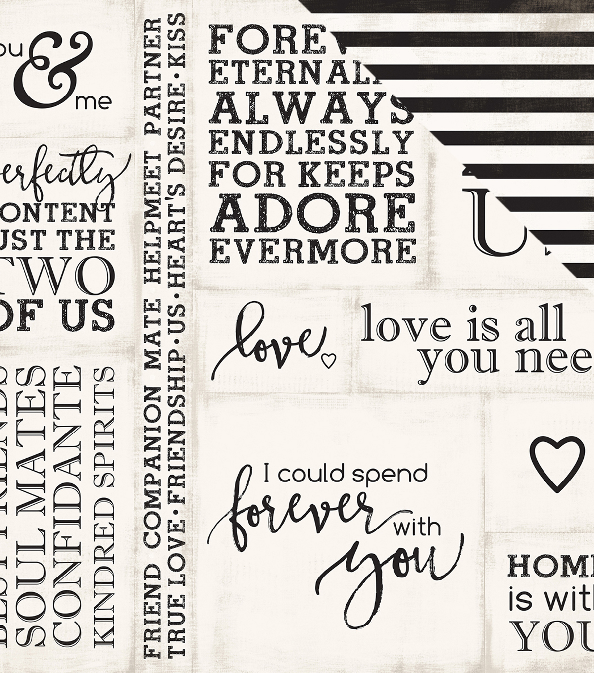"Wedding Bliss Double-Sided Cardstock 12""X12""-Loving Words"