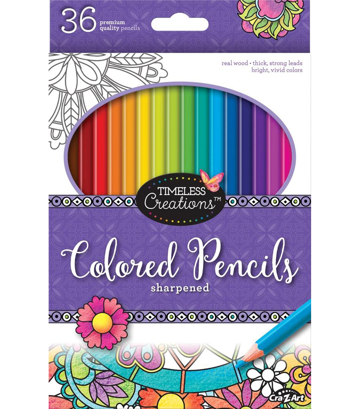 Timeless Creations 36ct Colored Pencils