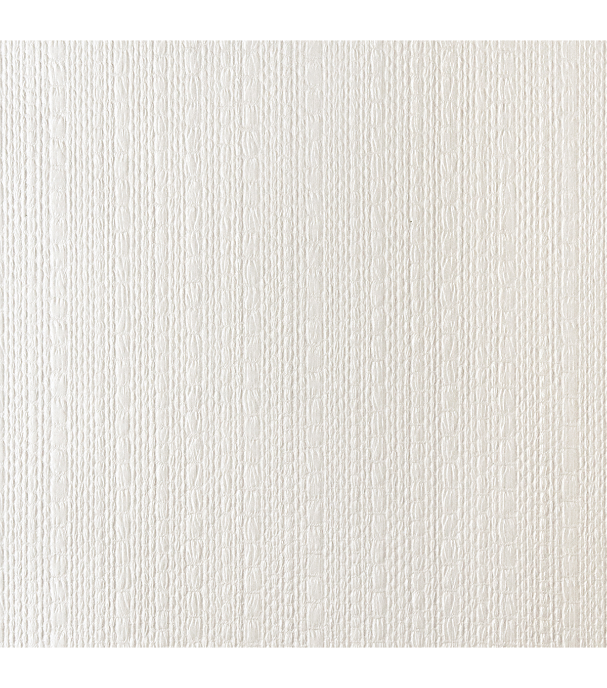 Almiro White Textured Weave Wallpaper Sample