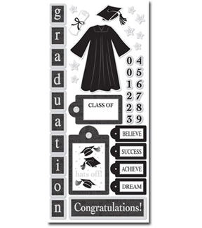 Graduation Icons Sticker
