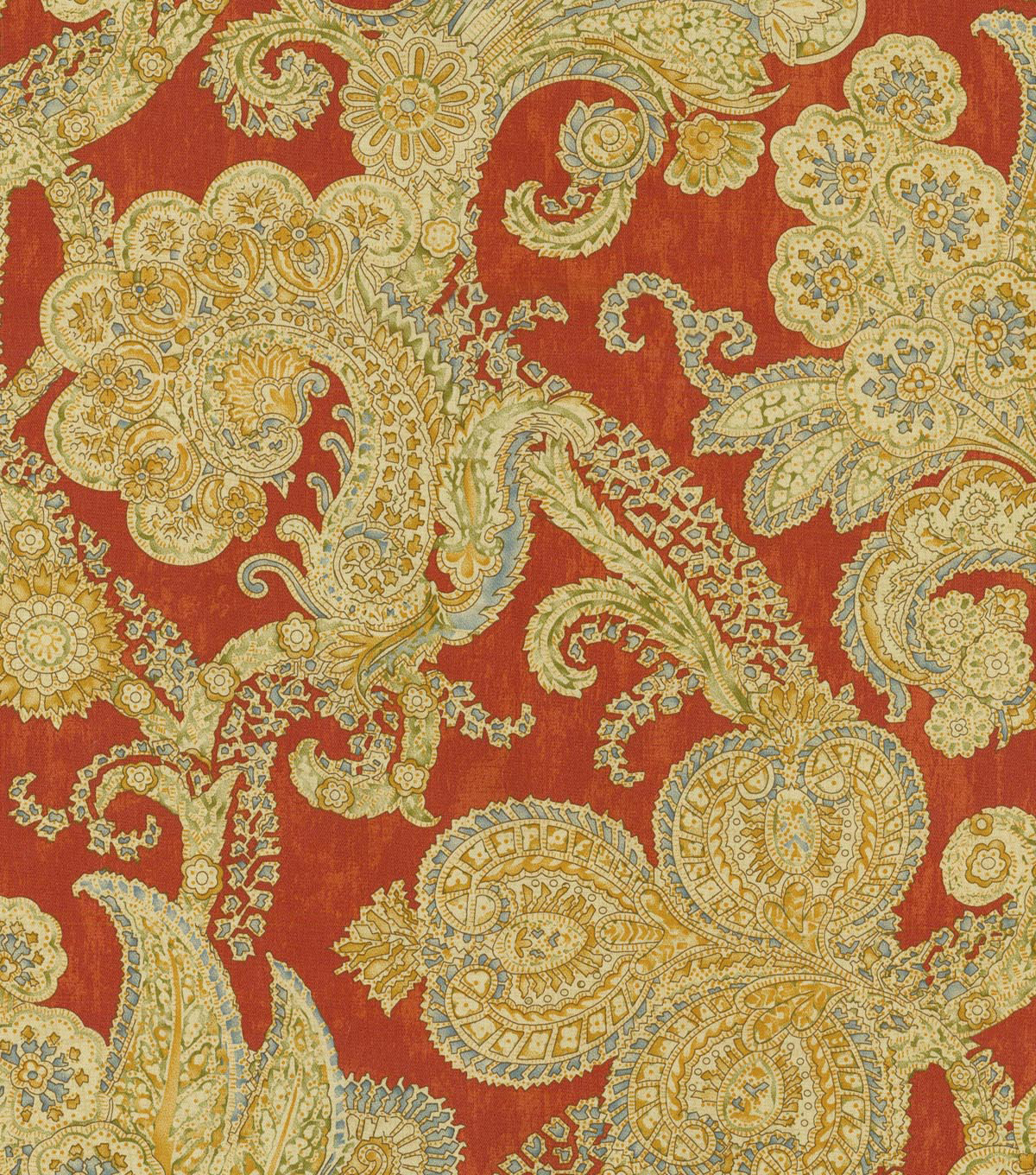 Waverly Upholstery Fabric 54\u0022-Grand Gesture/Woodland