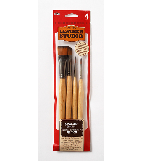 Leather Studio - Tools - Decorative Brush Kit
