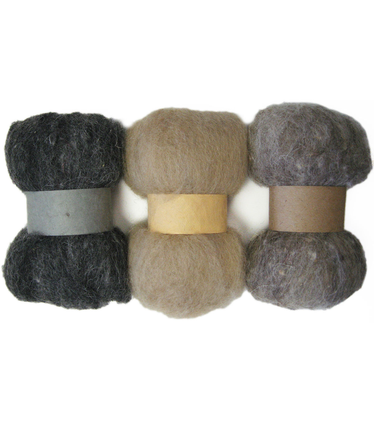 Feltworks Roving Trio Pack 1.58oz-Neutrals