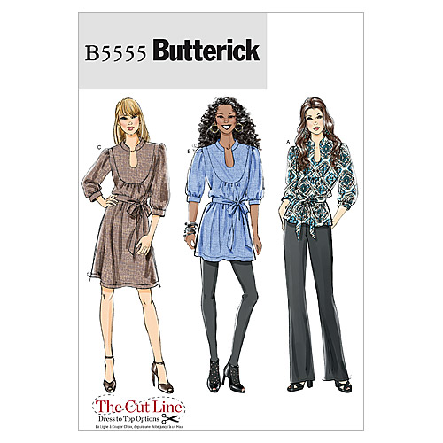 Mccall Pattern B5555 Bb (8-10-1-Butterick Pattern