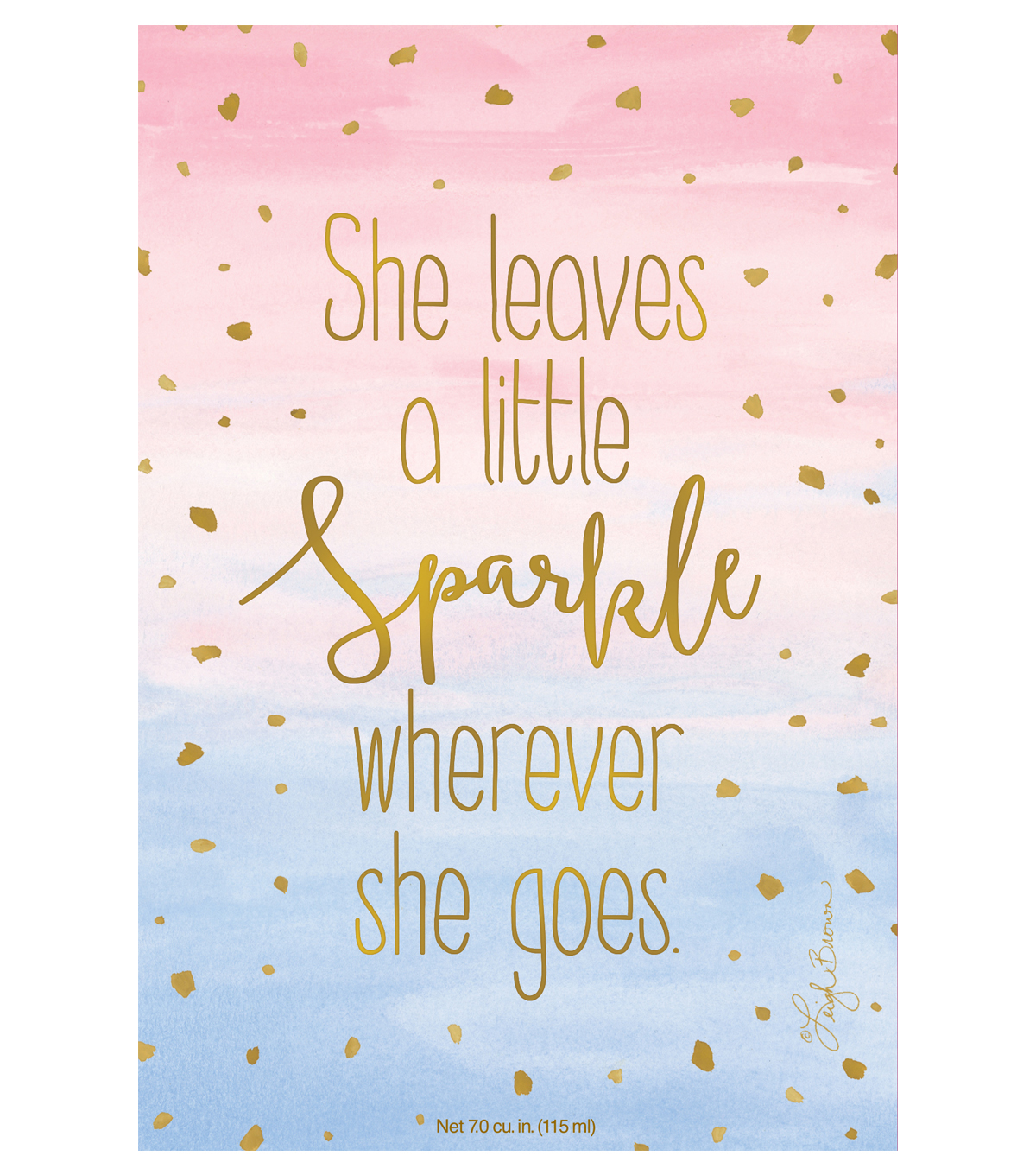 She Leaves A Little Sparkle Wherever She Goes 3 pk Scented Sachets