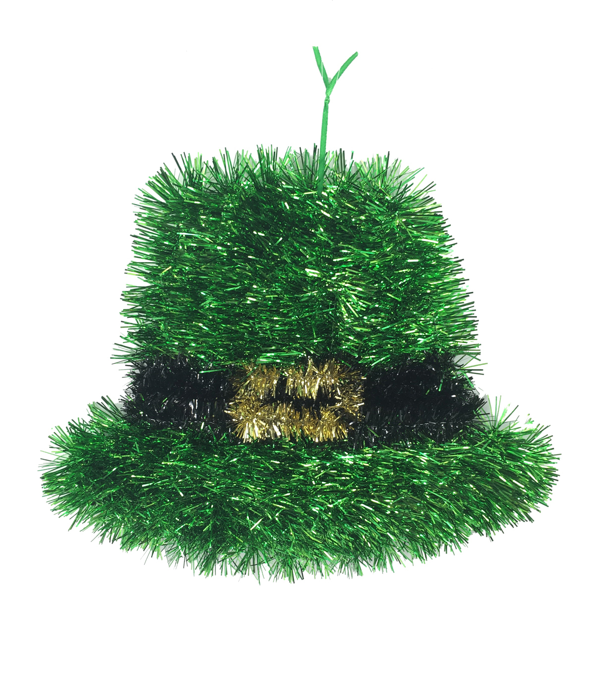 St. Patrick\u0027s Day Hat Tinsel Wall Decor