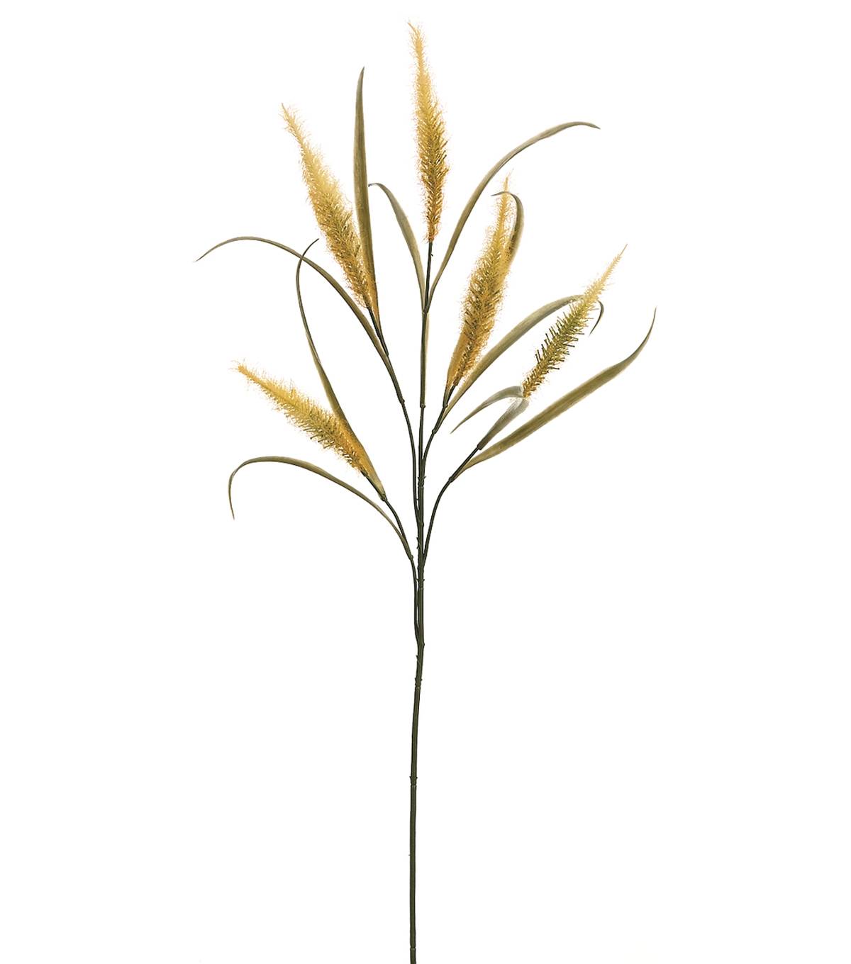 Bloom Room 30\u0022 Feather Grass Spray-Yellow