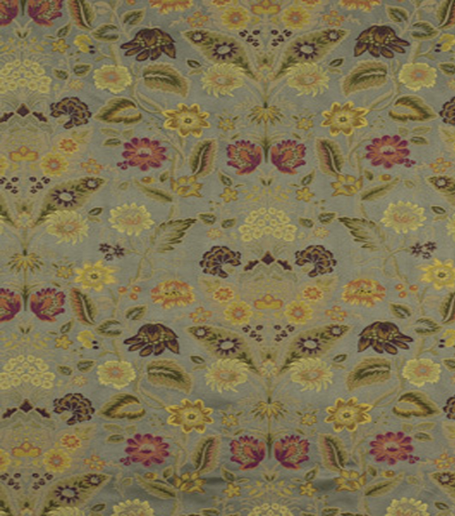 "Home Decor 8""x8"" Fabric Swatch-Robert Allen Eden Lampasso Spa"