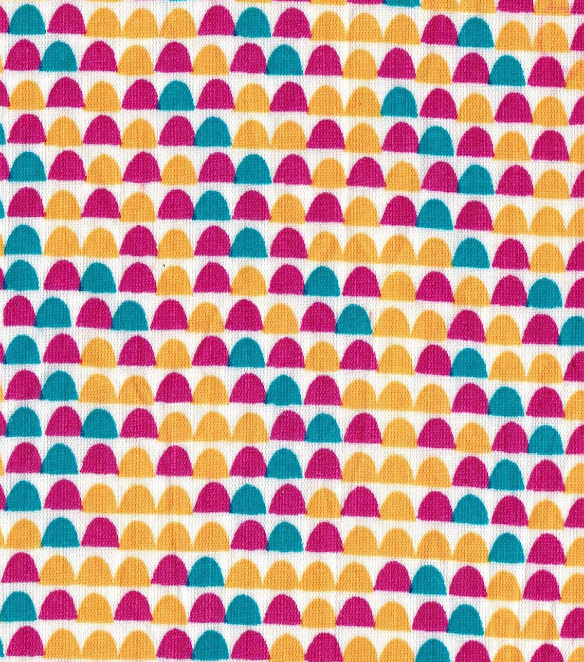 Quilter\u0027s Showcase™ Fabric 43\u0027\u0027-Capri Breeze Half Circle