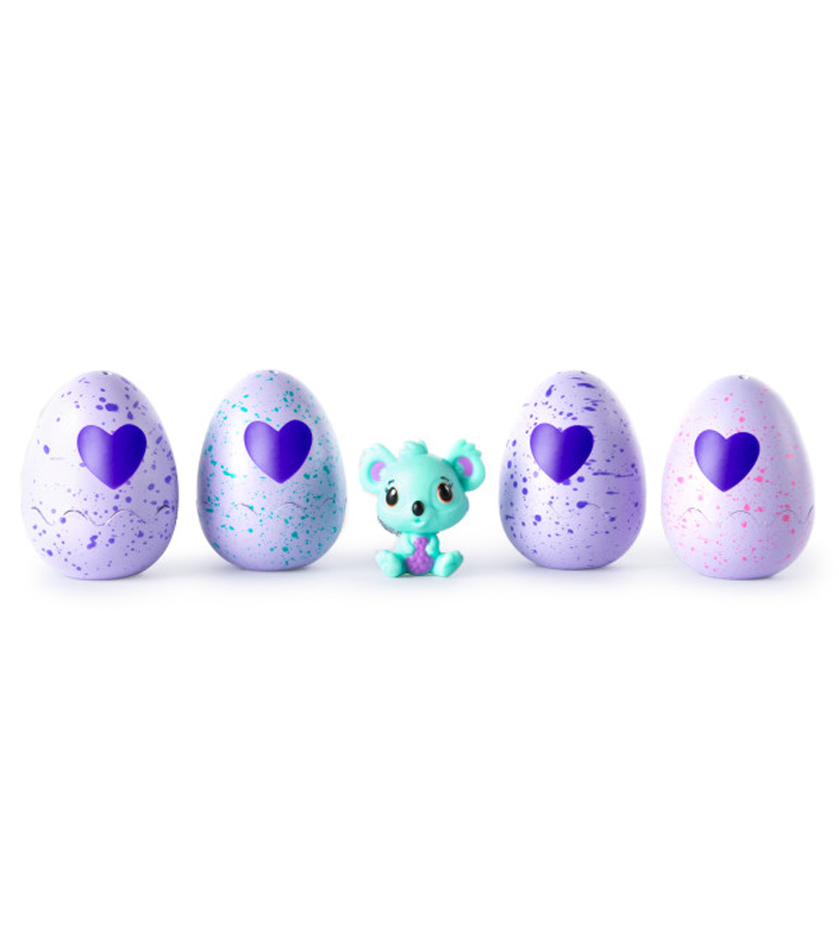 Hatchimals CollEGGtibles 4-Pack & Bonus CollEGGtible