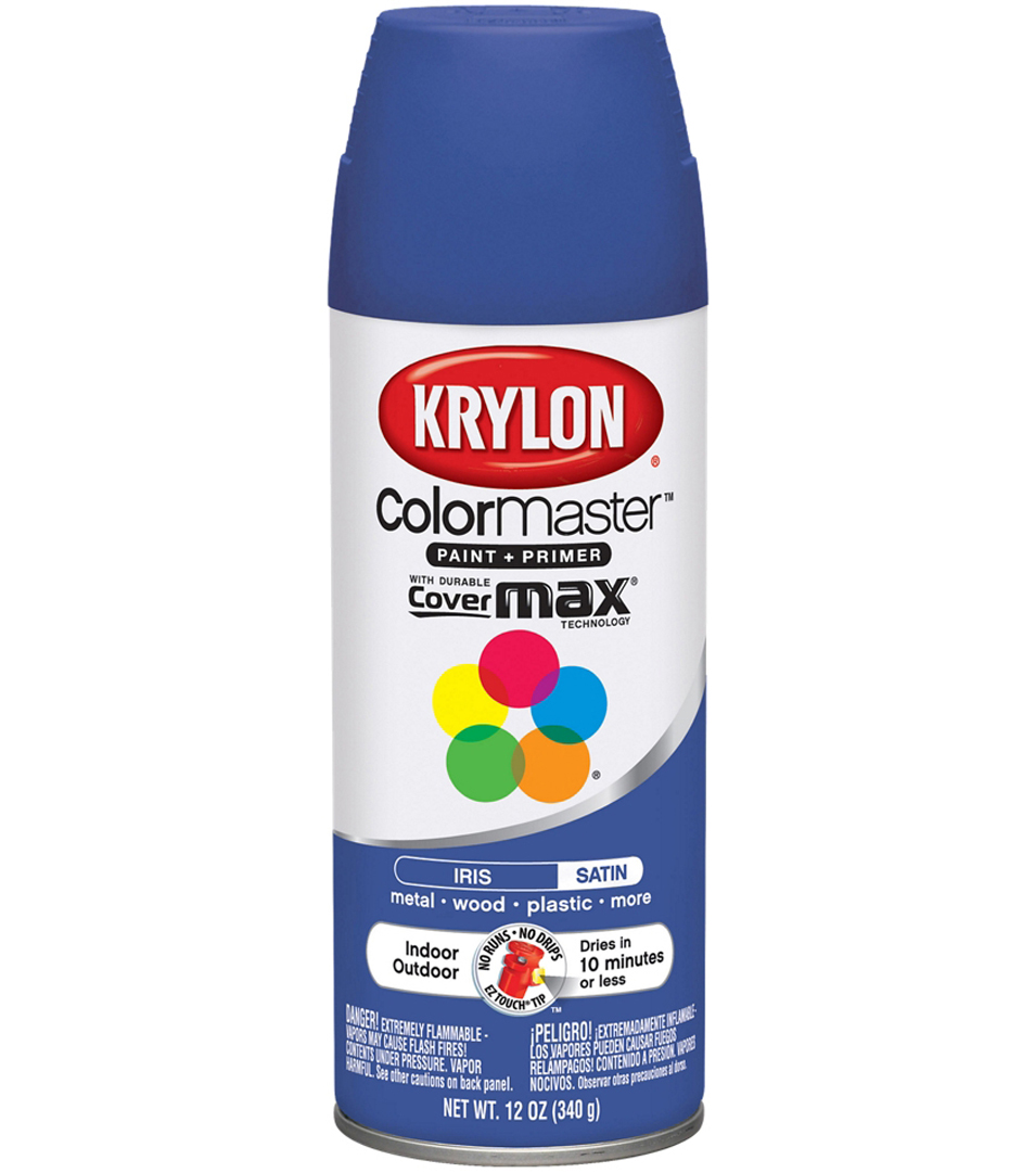 Colormaster Indoor/Outdoor Aerosol Paint 12oz- Matte