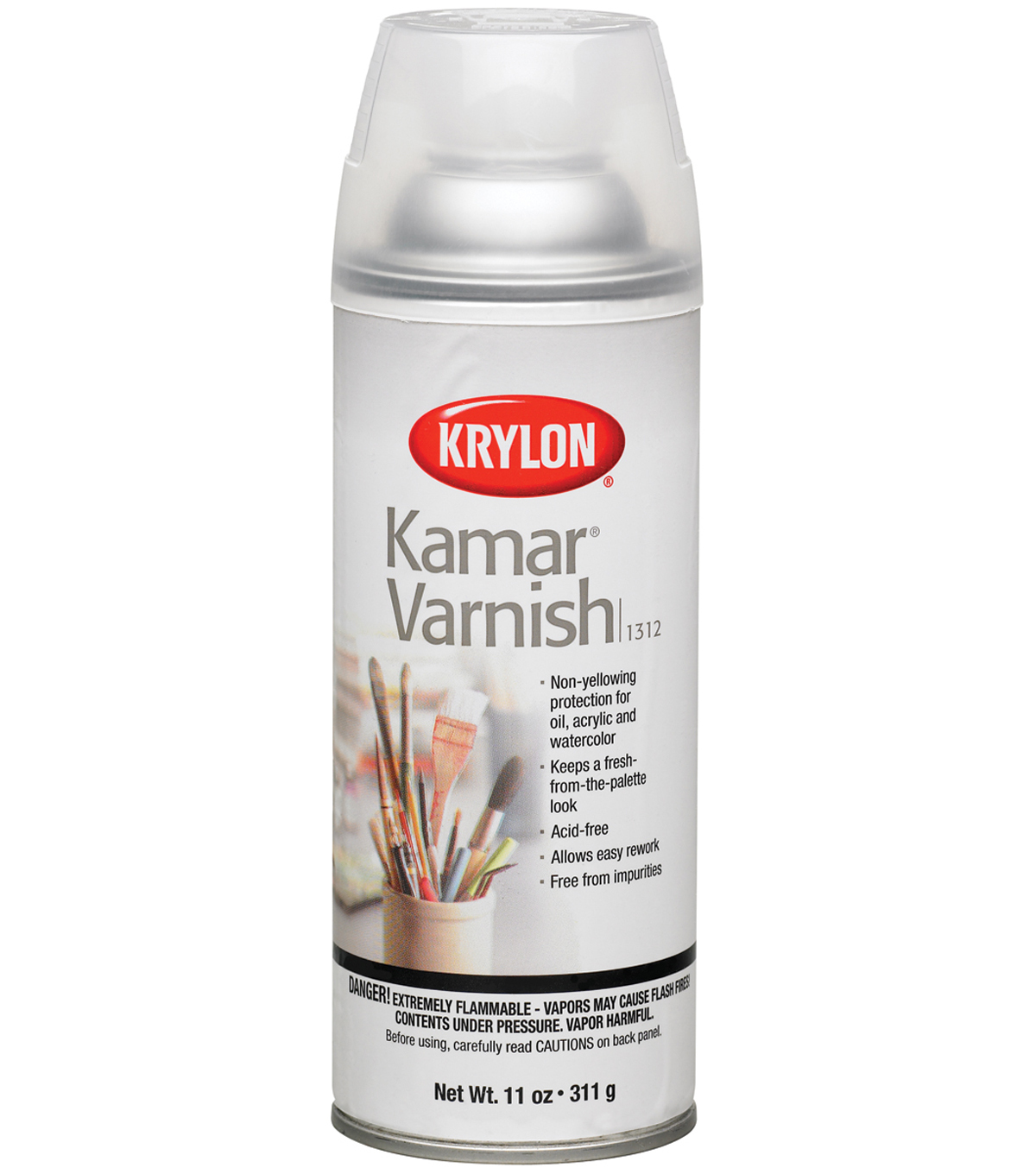 Krylon Kamar Varnish Aerosol Spray 11oz