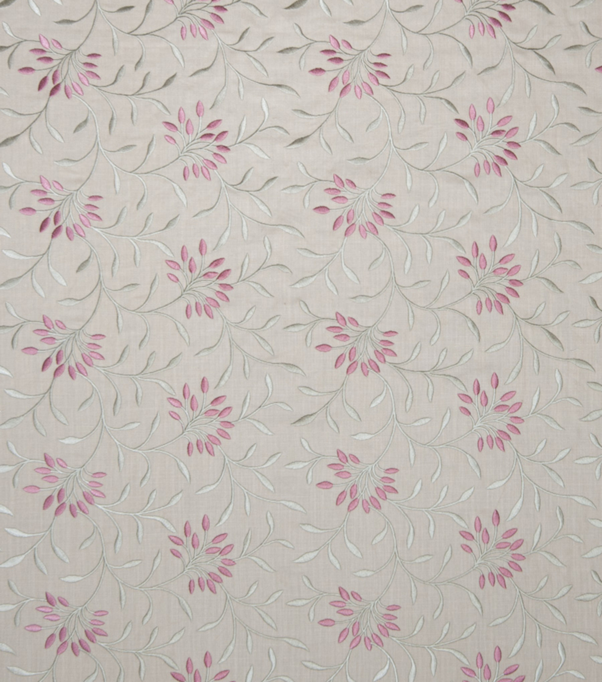 "Home Decor 8""x8"" Fabric Swatch-Print Fabric Eaton Square Greenville Berry"