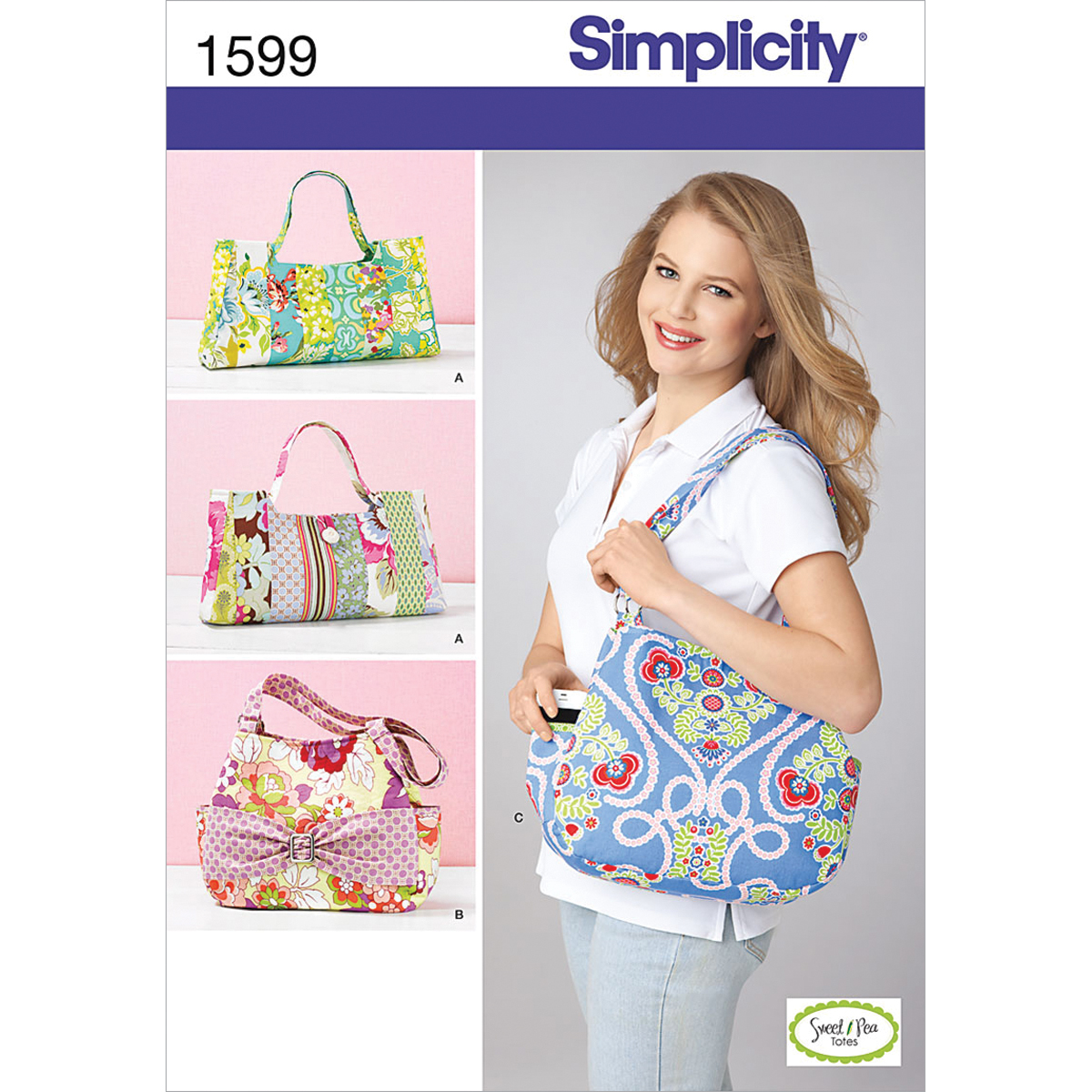Simplicity Pattern 1599OS One Size -Crafts Accessories