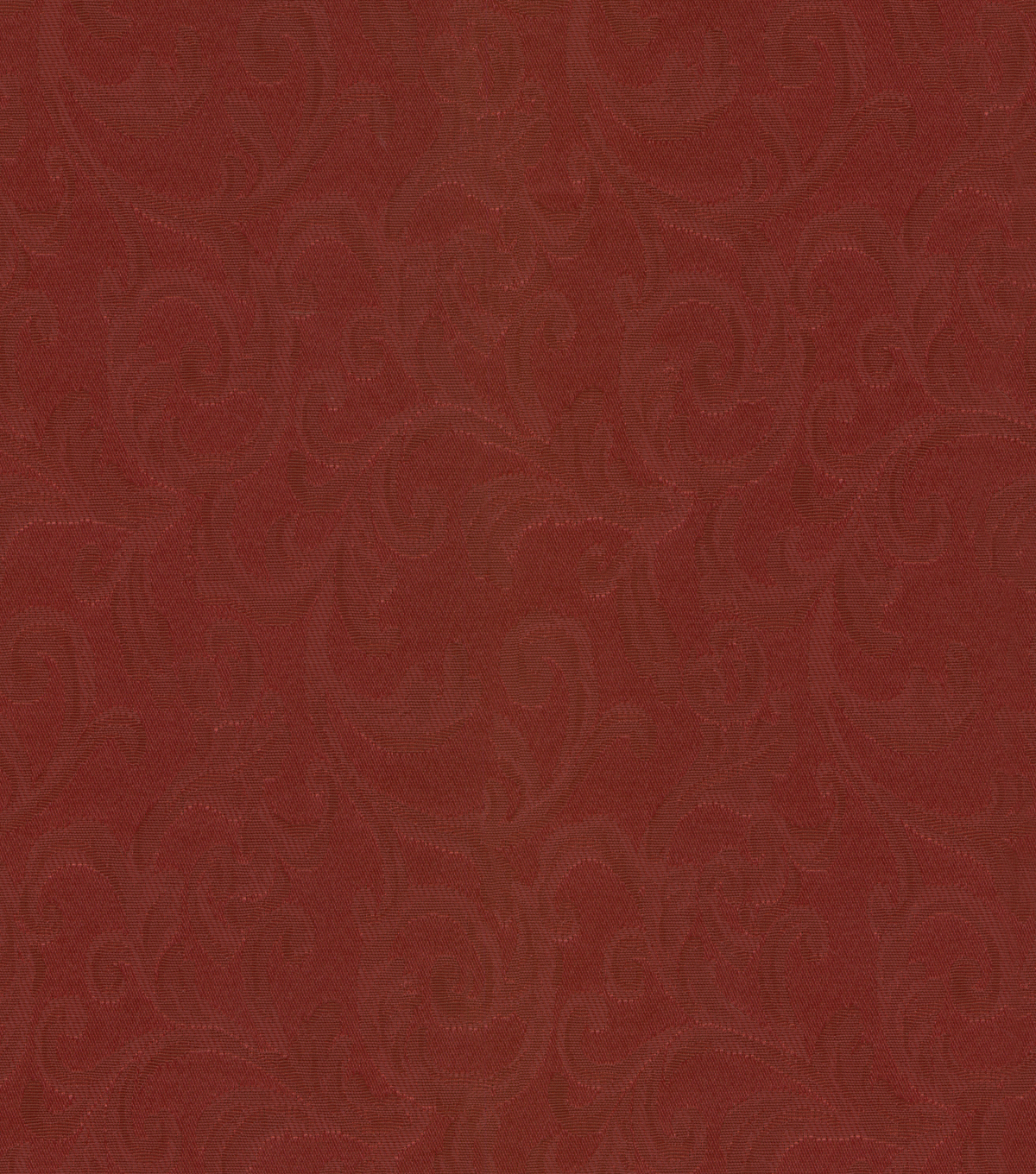 Signature Series Home Decor Solid Fabric Prospect-Burgundy