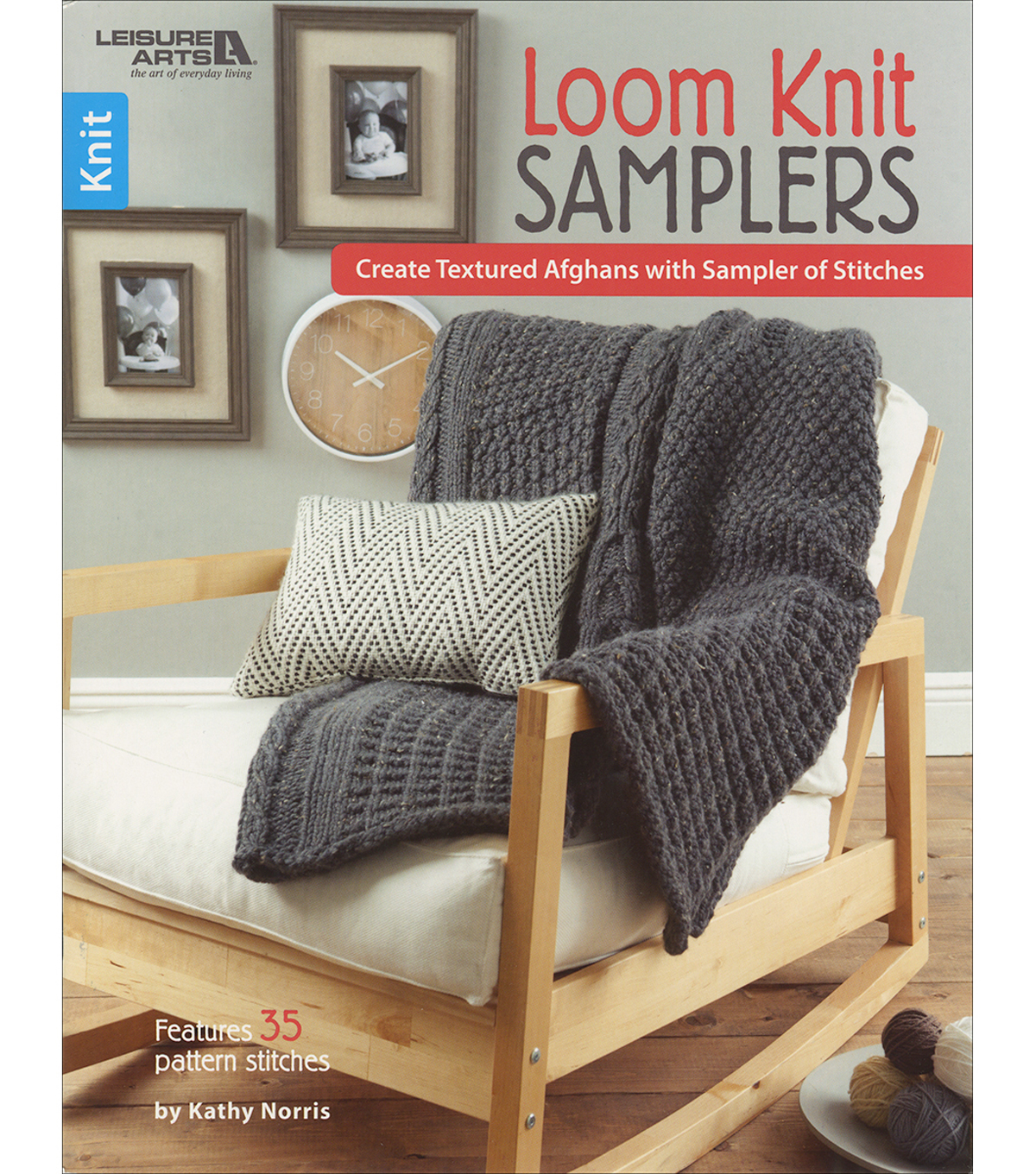 Leisure Arts Loom Knit Samplers Knitting Book