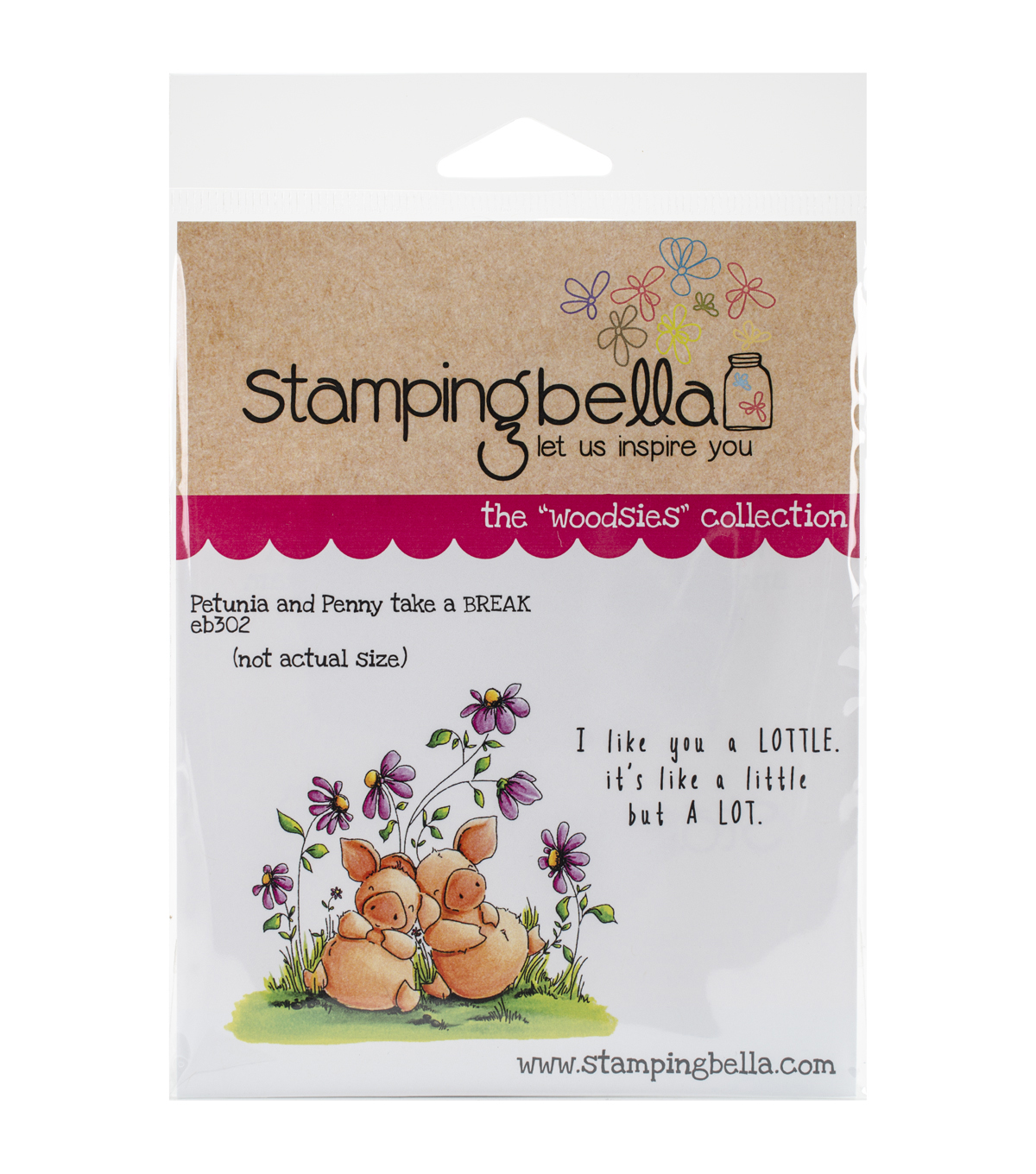 Stamping Bella Petunia & Penny Take A Break Cling Stamp