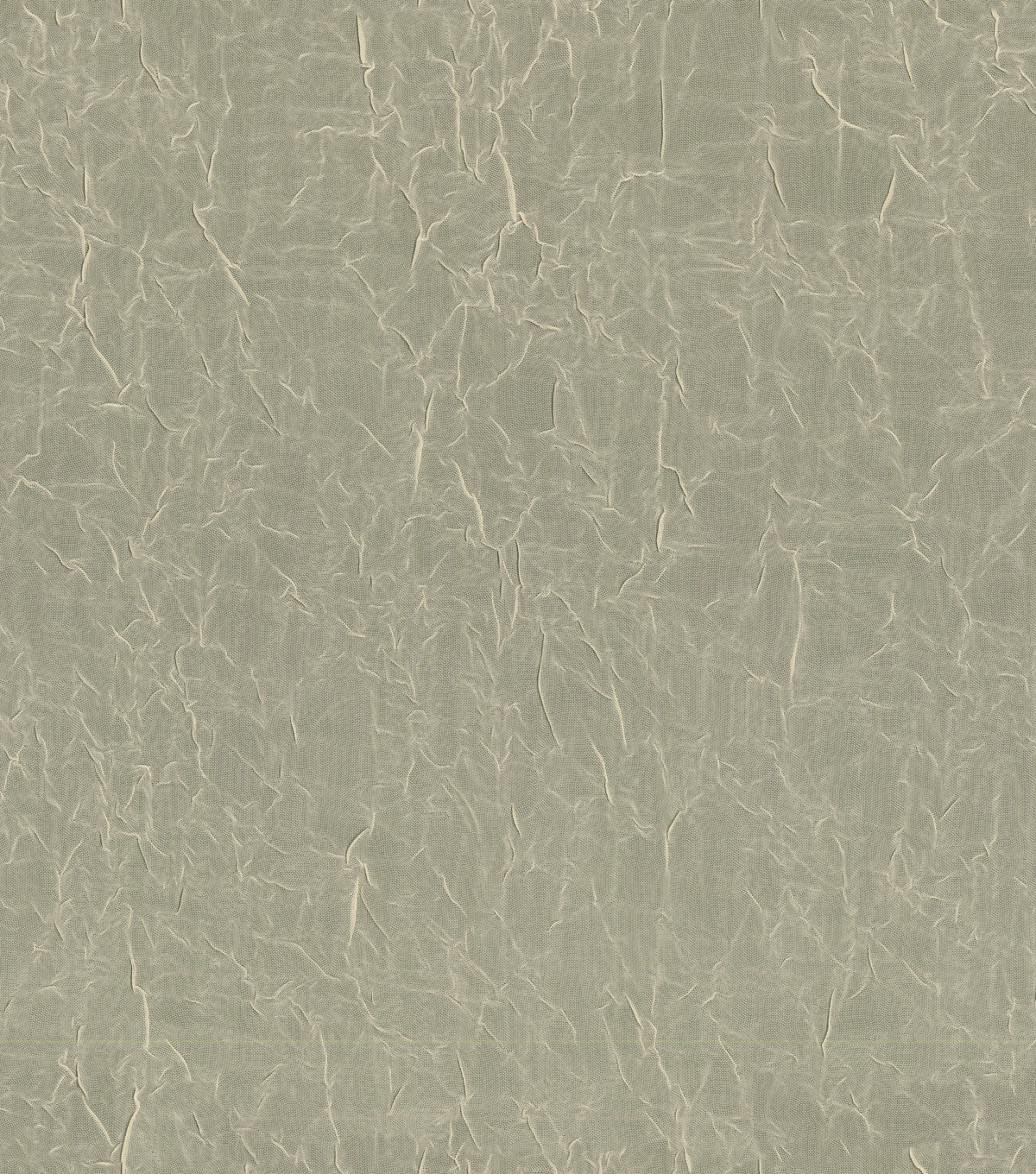 "Signature Series Sheer Crushed Voile Fabric 106""-Ivory"