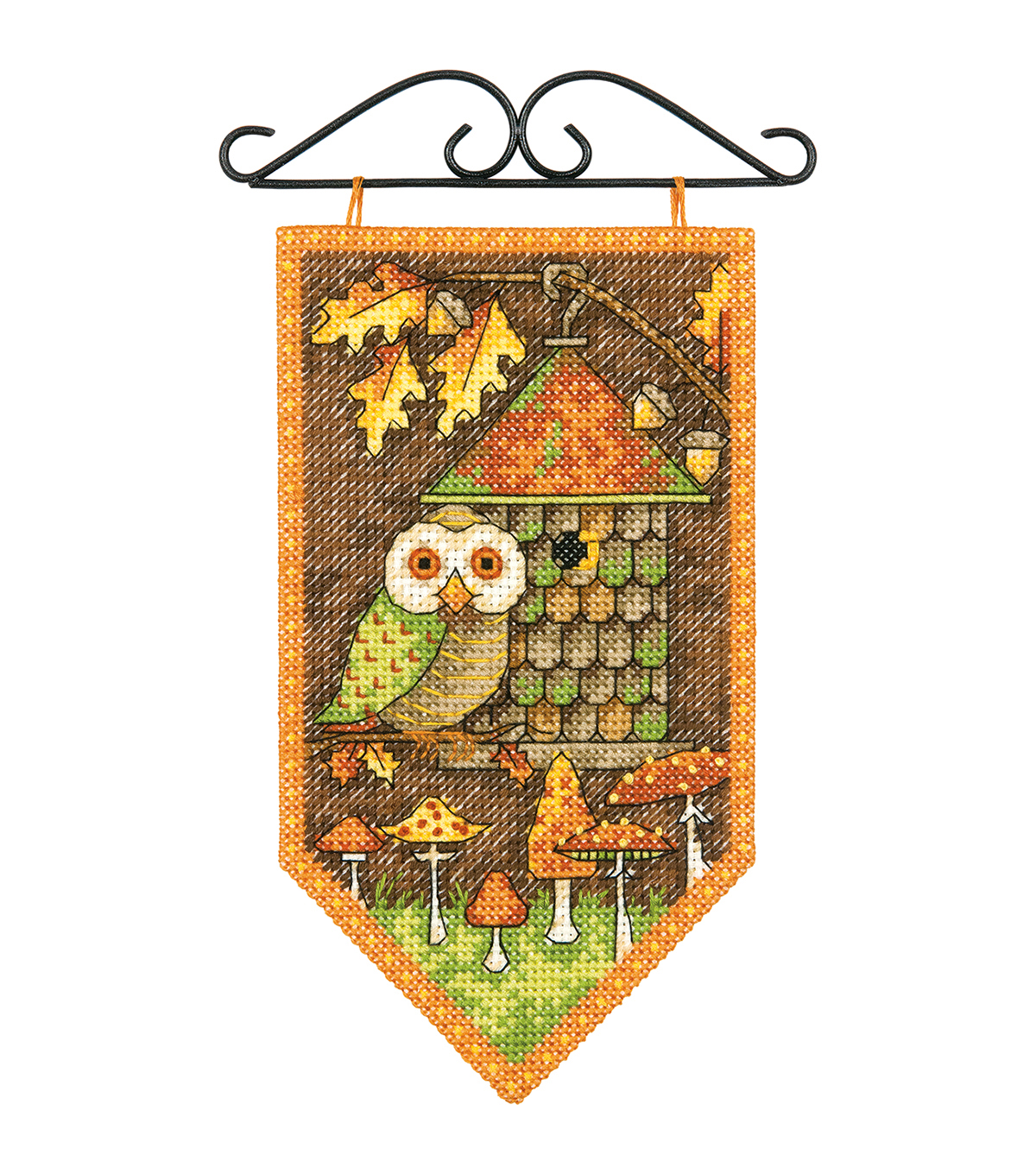 Dimensions Fall Banner Counted Cross Stitch Kit