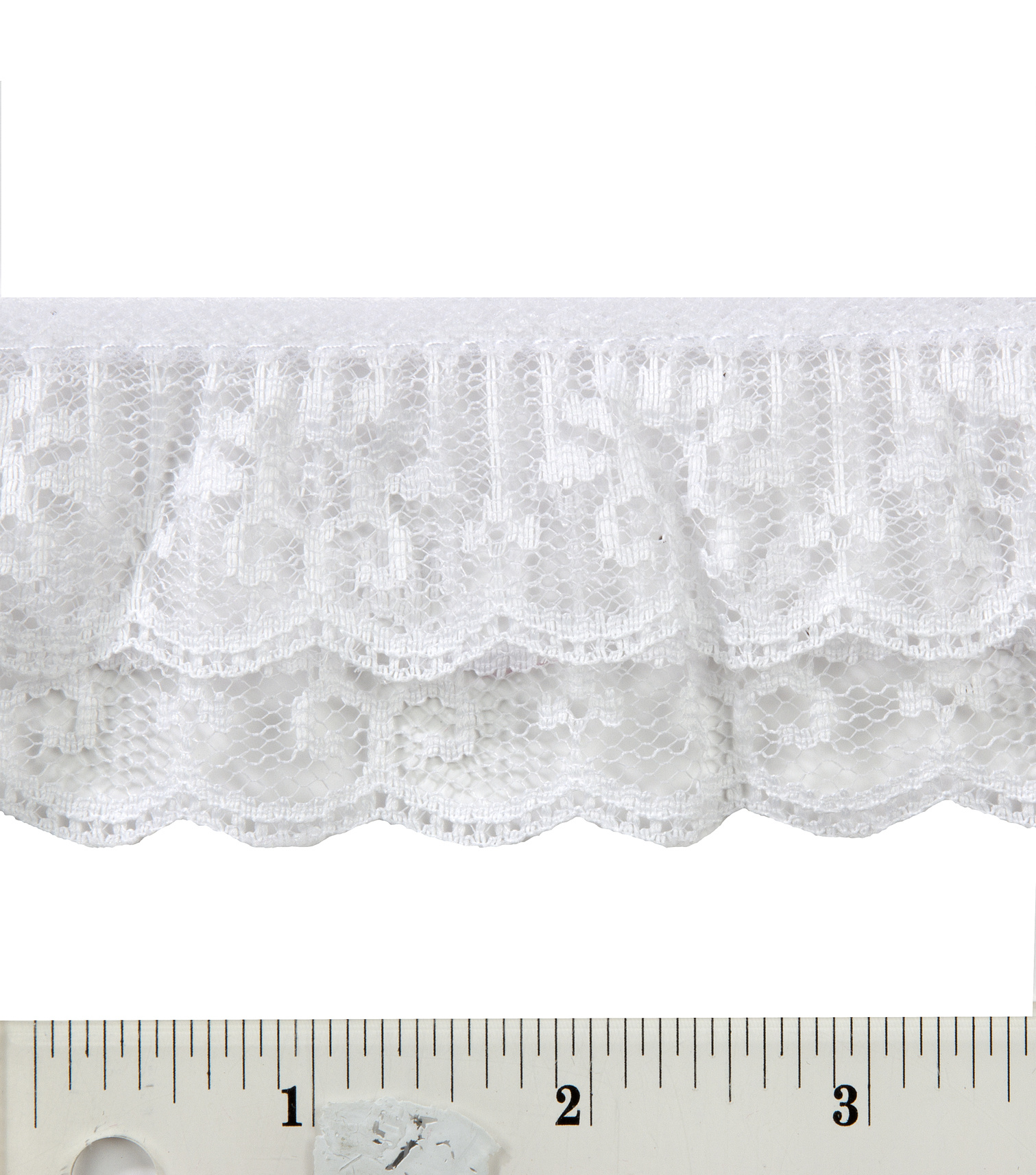 2 In 2 Tier Lace 12 Yd