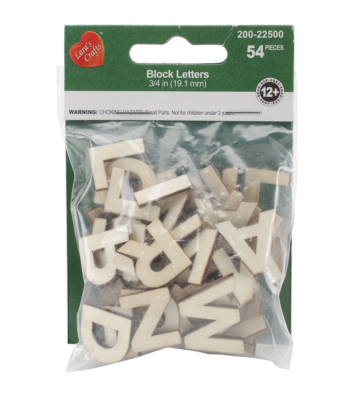 The New Image Group Wood Alphabet Blocks 54 pcs