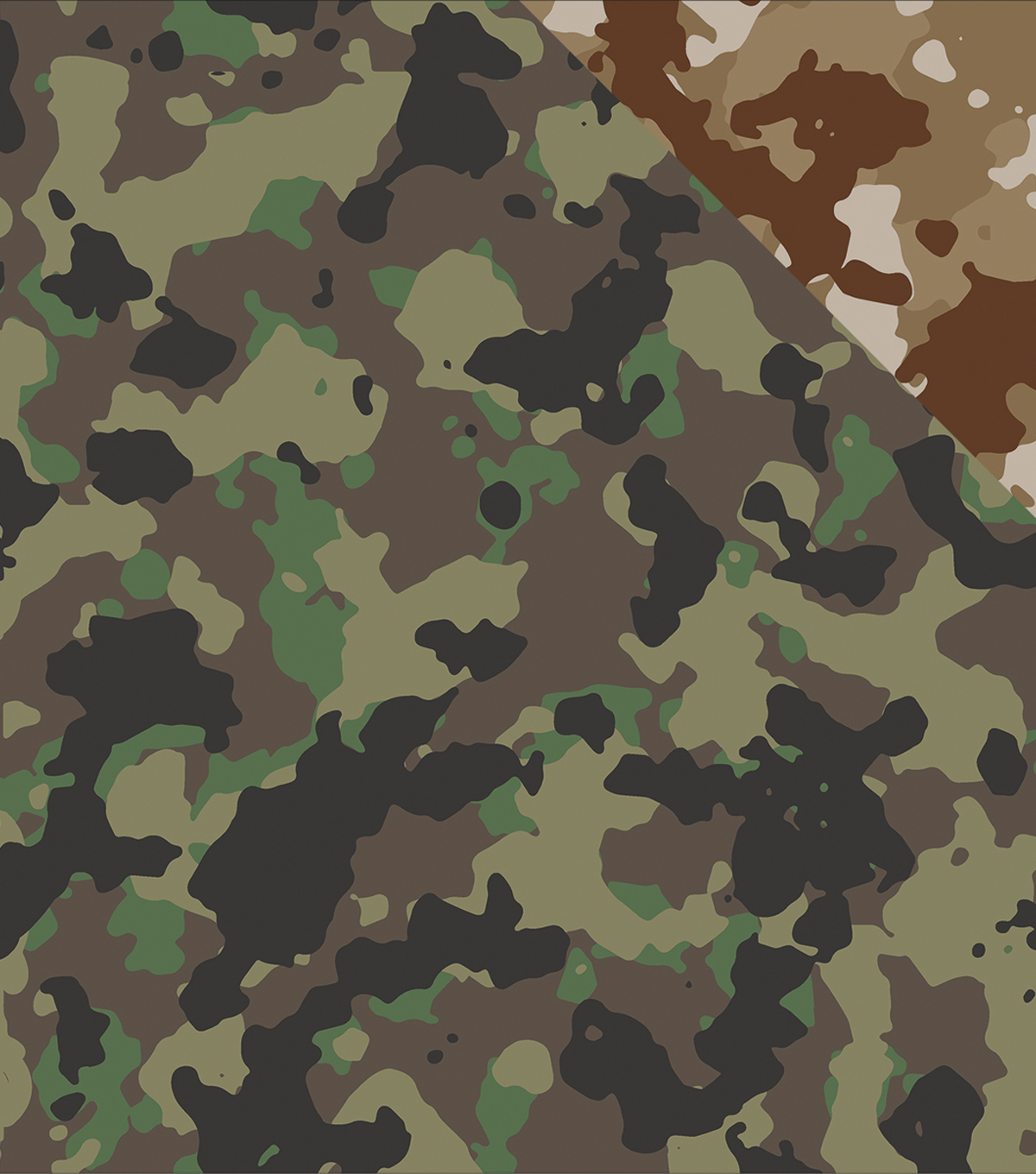 "Hunter's Paradise Double-Sided Cardstock 12""X12""-Hunter's Camo"