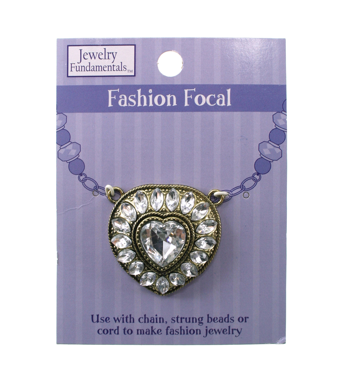 Jewelry Fundamentals Fashion Focal - Heart