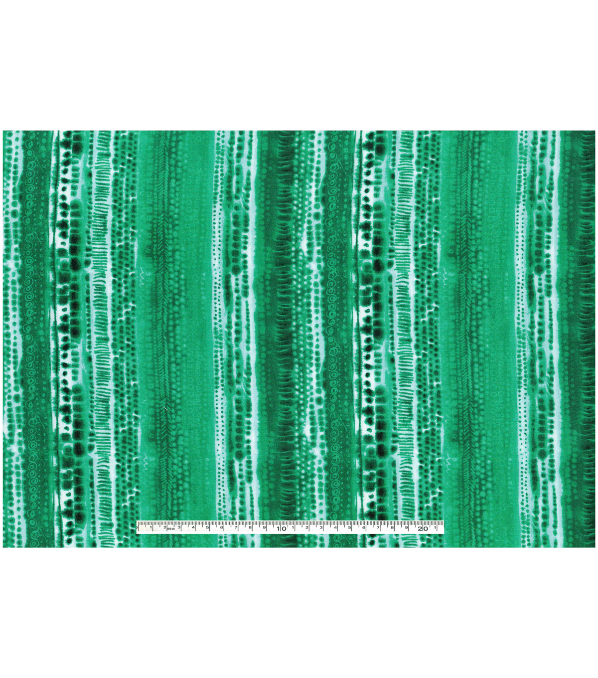 Keepsake Calico™ Cotton Fabric-Tie Dye Stripe Green