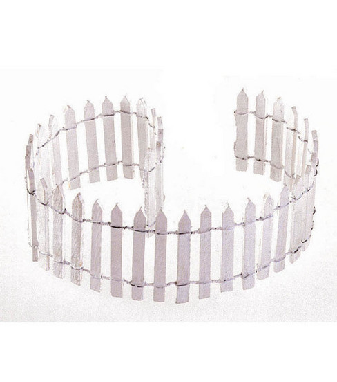 Darice® 18\u0022x2\u0022 White Picket Fence