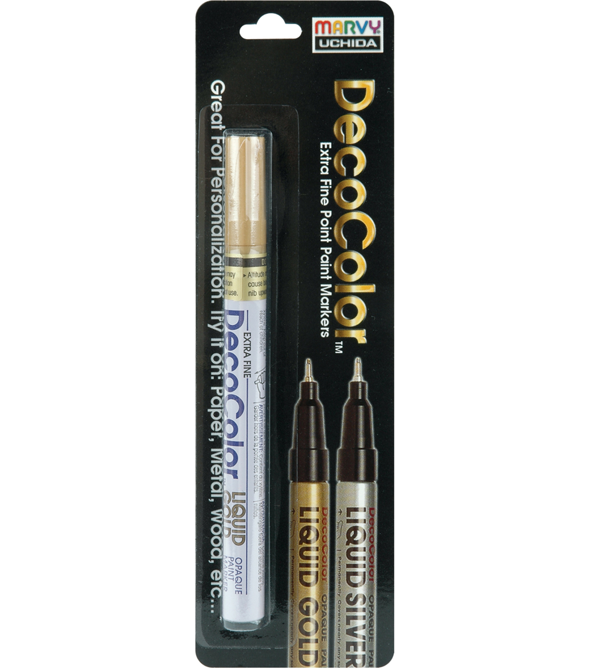 Metallic Paint Marker-Liquid Gold