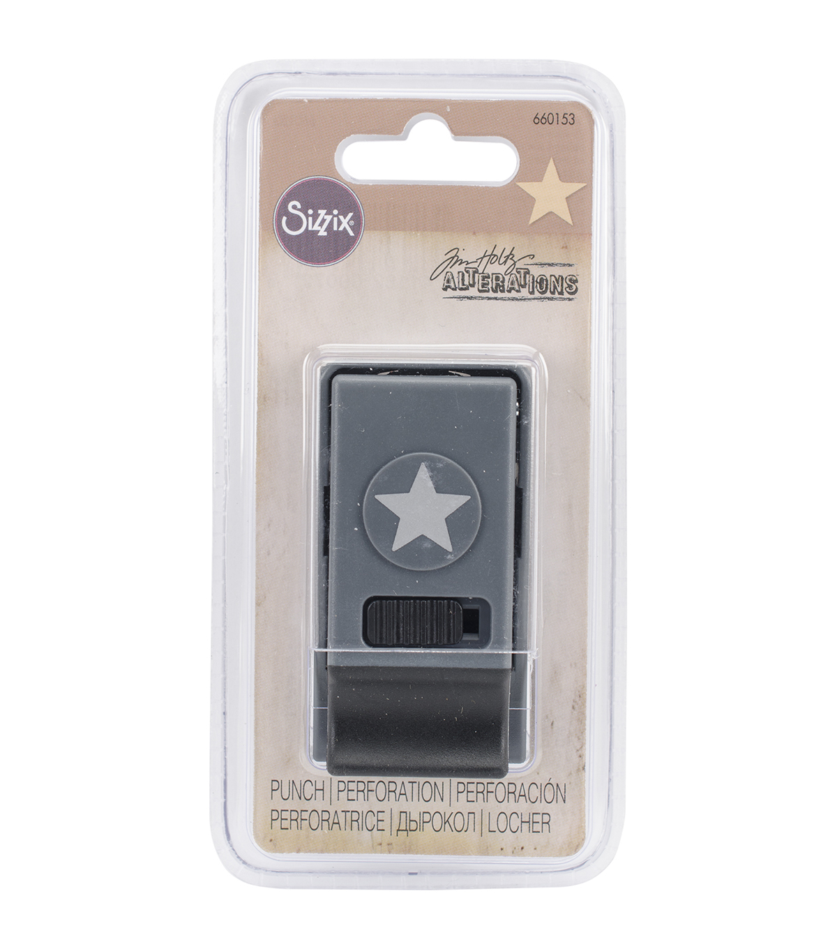 Sizzix® Tim Holtz® Small Paper Punch-Star