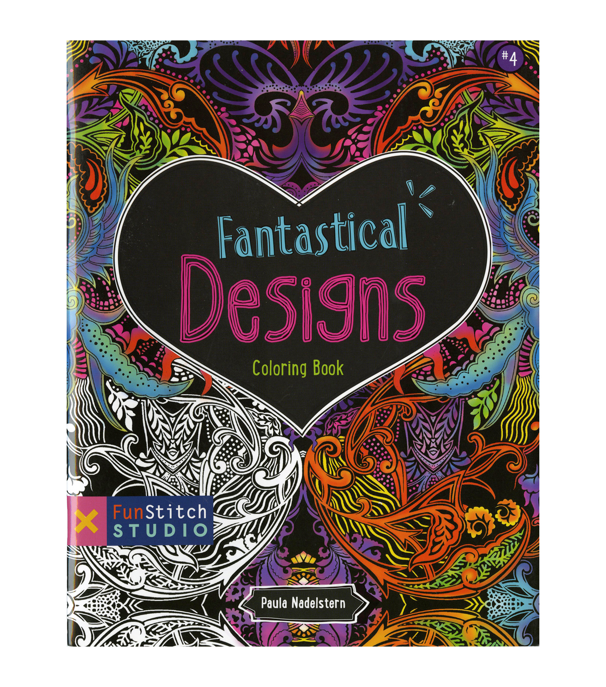 Fantastical Designs Coloring Book