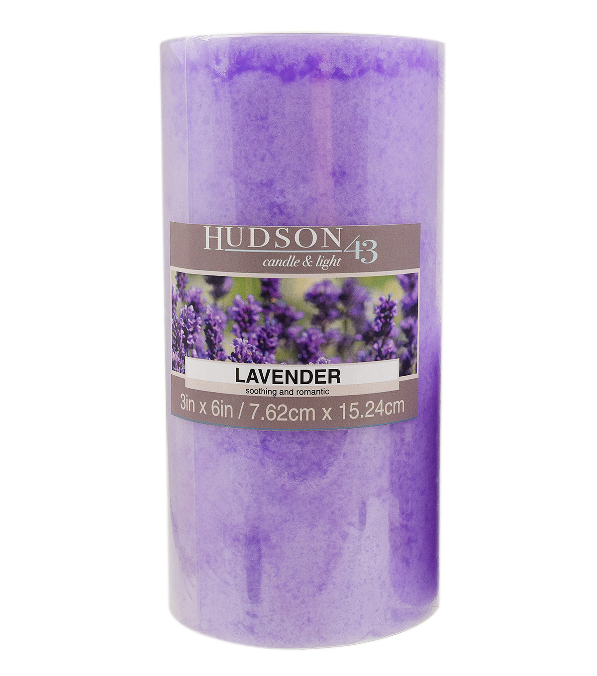 Hudson 43™ Candle & Light Collection 3X6 Pillar Lavender
