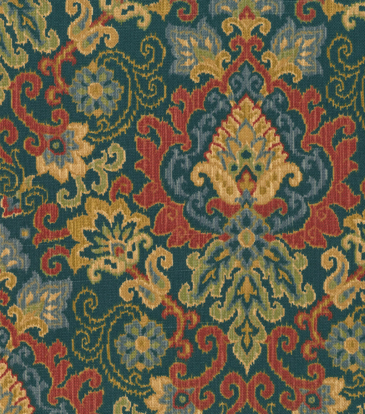 Waverly Upholstery Fabric 54\u0022-Magic Carpet/Sapphire