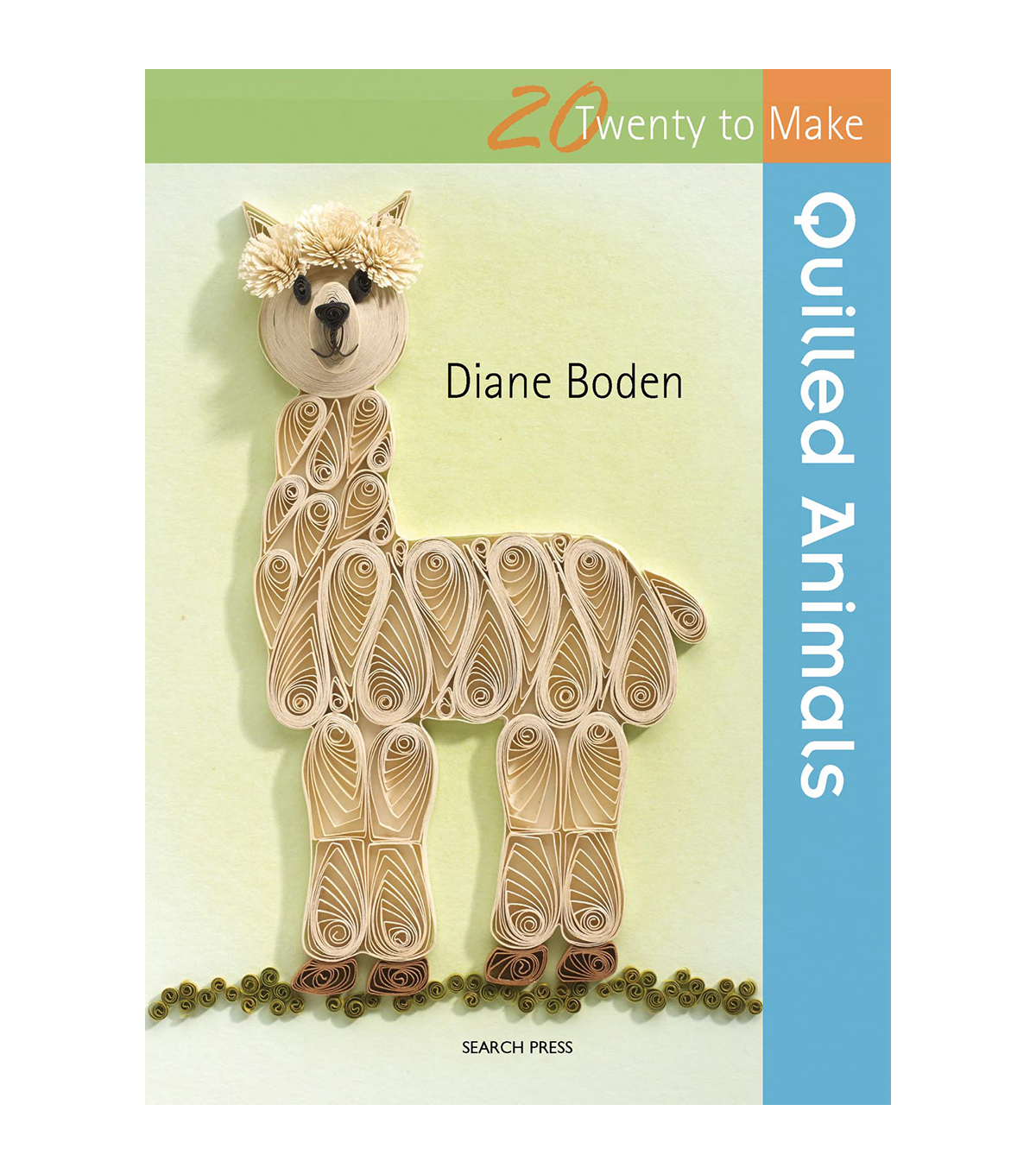 Twenty To Make Quilled Animals Softcover Book