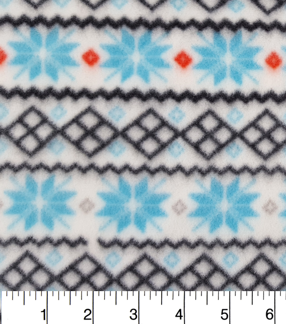 "Anti-Pill Fleece Fabric 59""-Snowflake Sweater Knit"