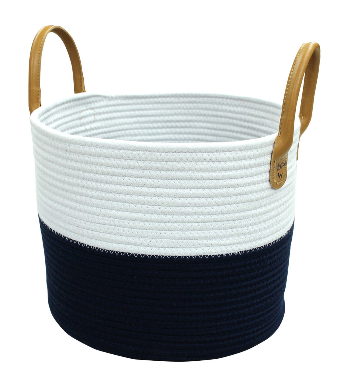 Hudson 43™ Small Round Cotton Rope Basket