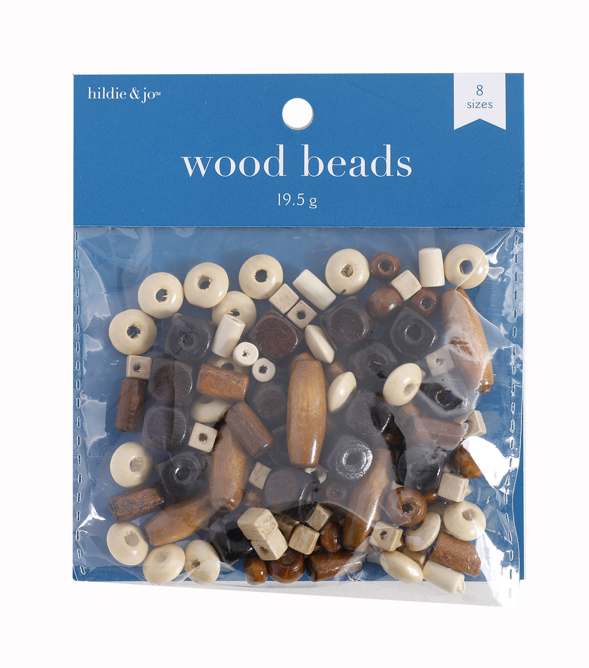 Darice® Small Wood Beads-78PK/Multi