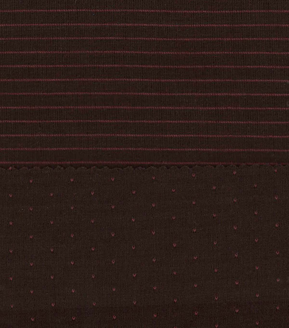 "Southwest Poly Cotton Fabric 57""-Reversible Brown and Orange"