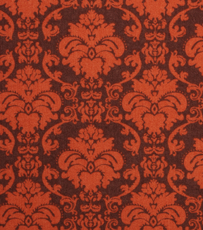 Holiday Showcase™ Harvest Cotton Fabric 43\u0022-Brown Damask