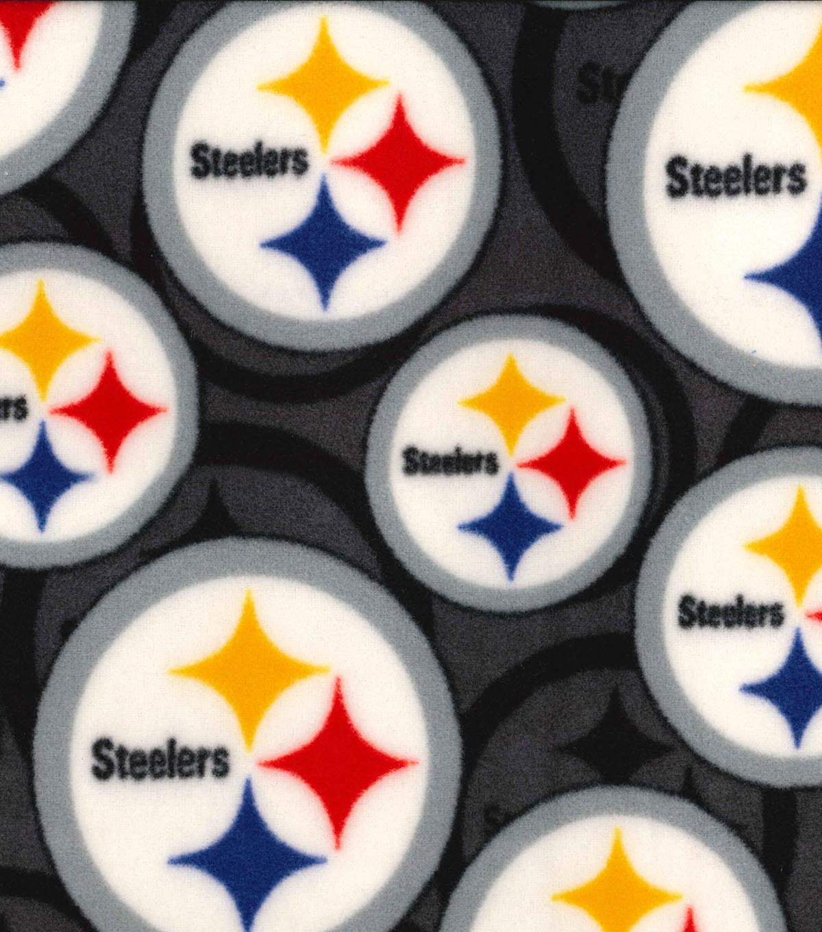 Pittsburgh Steelers Fleece Fabric 58\u0022-Logo